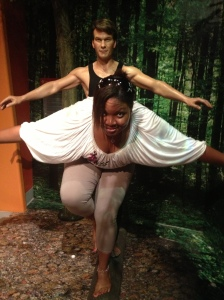 Pose with wax Patrick Swayze? Yes please! Opportunity lies in everything you do, you just have to be open to thinking outside of the box.