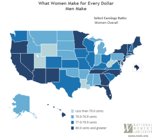 Wage Gap Map